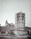 Vista desde el Castillo con la antigua Torre del Reloj